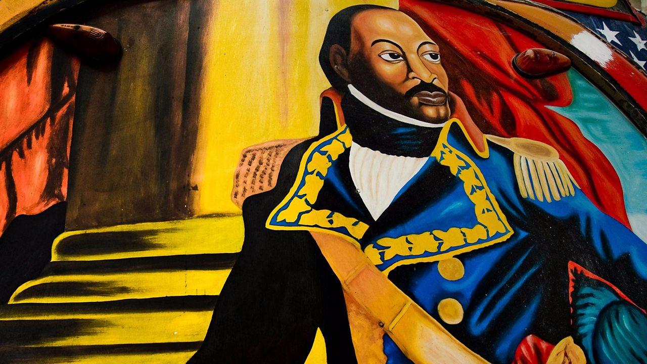 A painting of Toussaint L'Ouverture