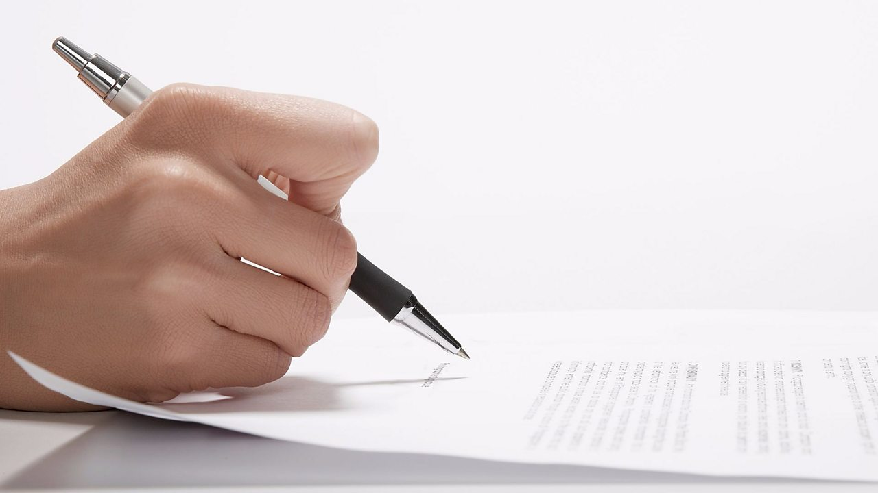 How to write a formal letter - BBC Bitesize