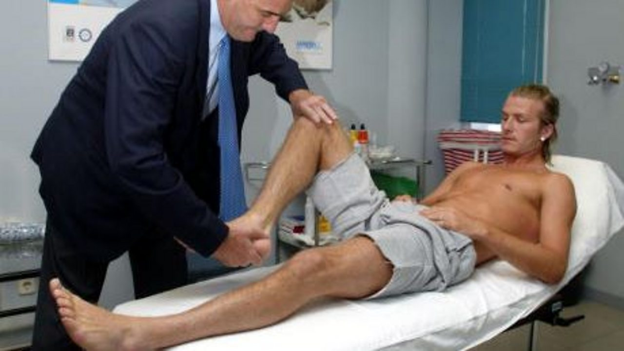 Stages of a football medical