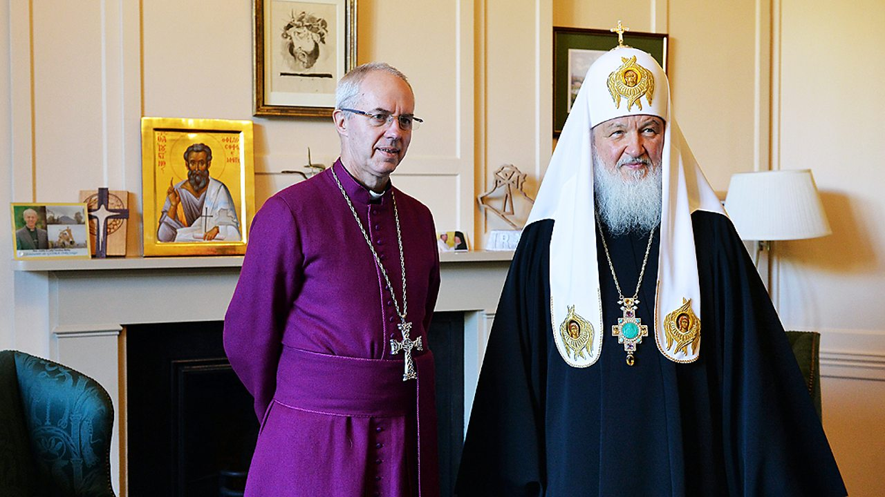 The Archbishop of Canterbury and Patriarch Kirill of Moscow