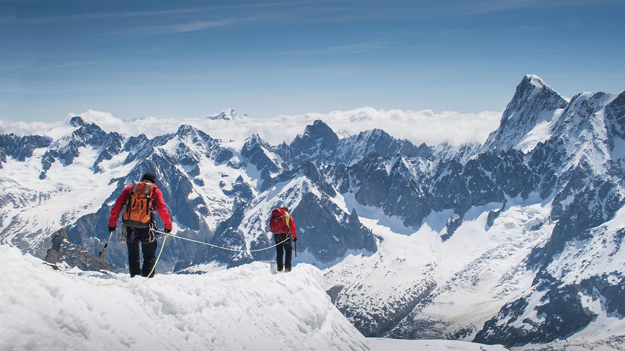The Alps are a popular destination for mountain climbers and skiers.