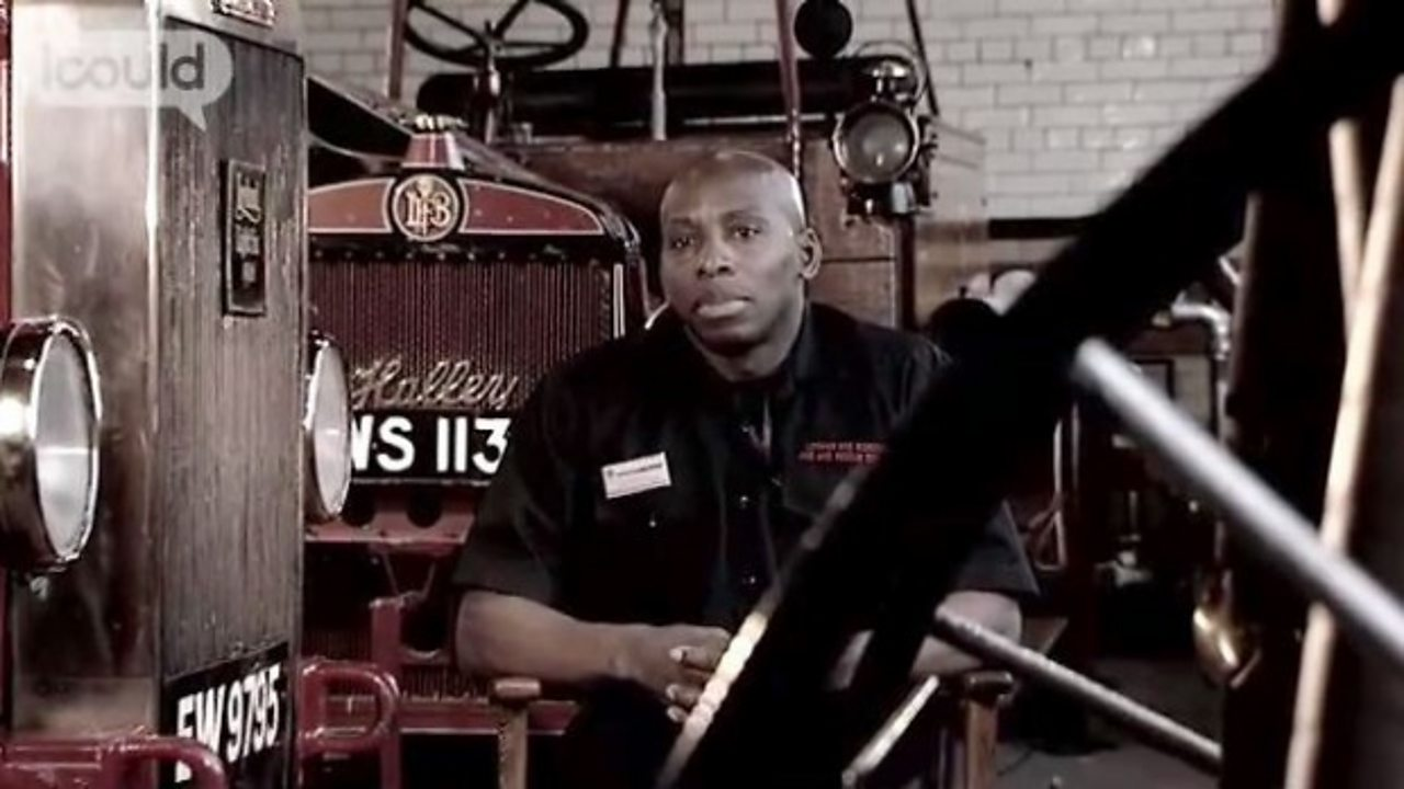 Ludwig - outreach officer, fire service