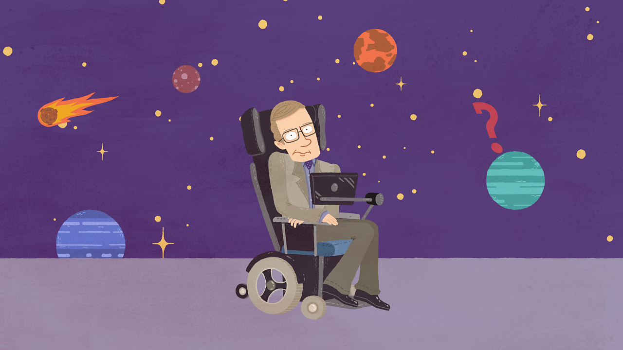 Who was Professor Stephen Hawking?