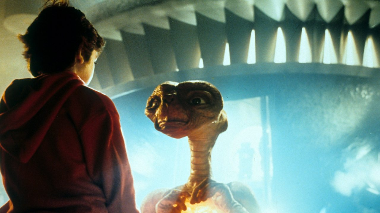 Henry Thomas and ET
