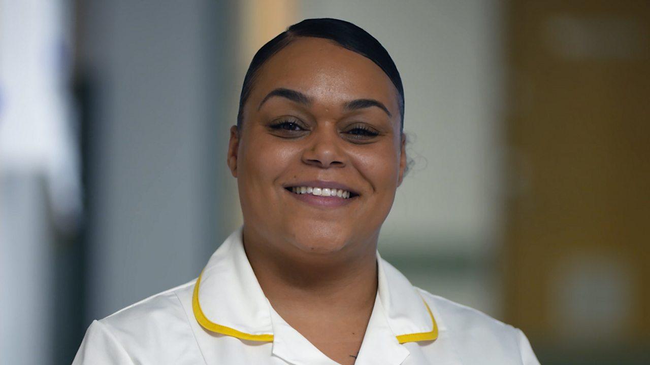 Keilagh: student nurse