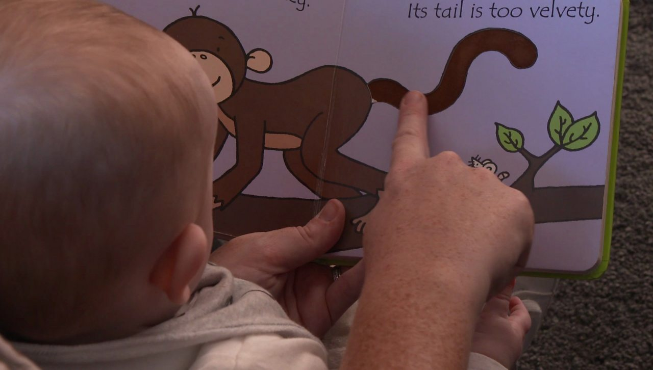 Four top tips for talking to your baby