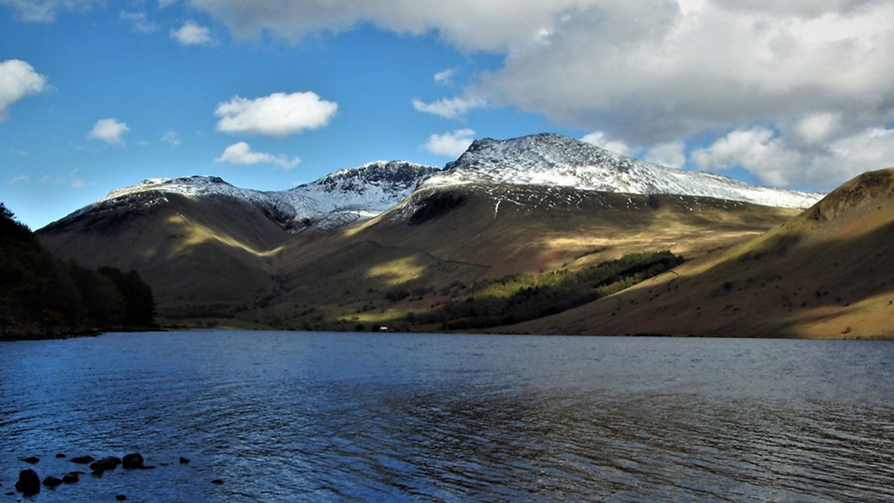 Scafell Pike is the highest mountain in England.
