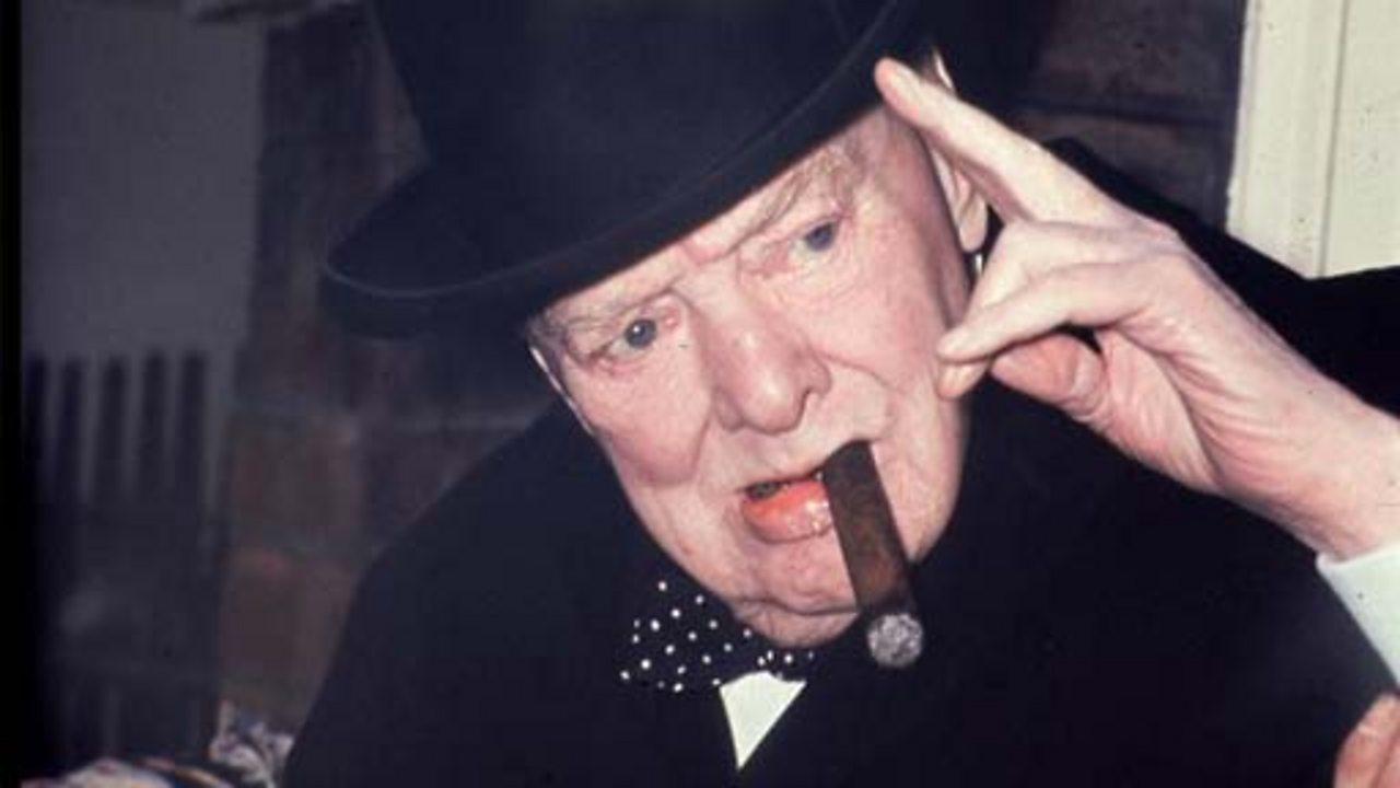 Winston Churchill's stroke, 1970