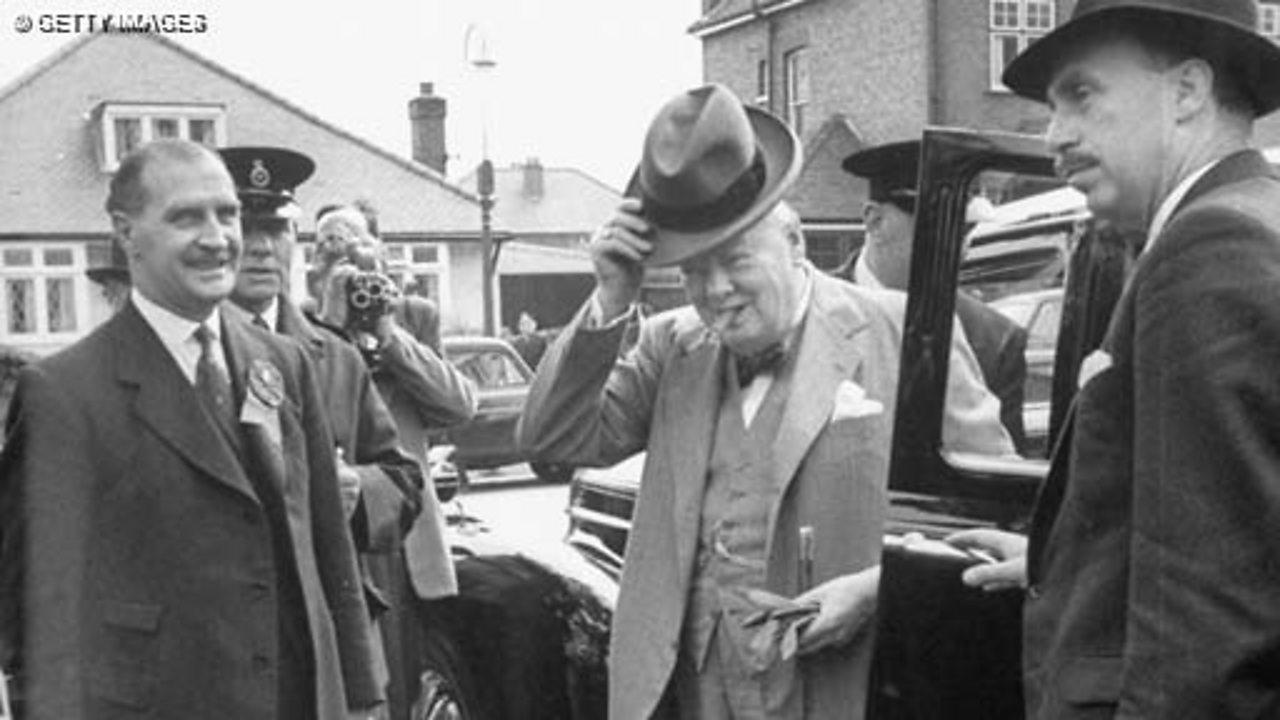 Churchill's bodyguard, 1974