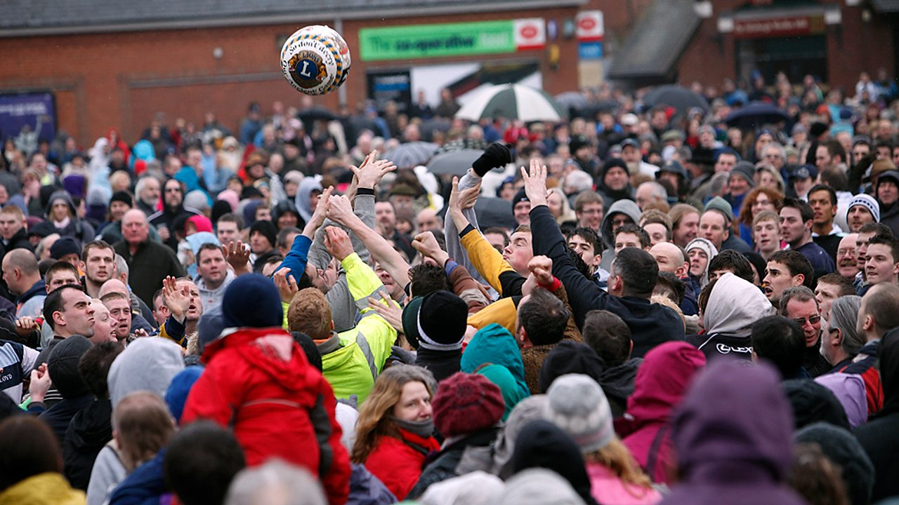 The Royal Shrovetide Football Match