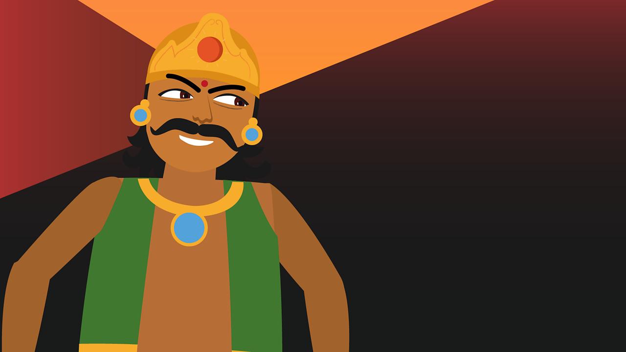 Hiranyakashipu an evil king.