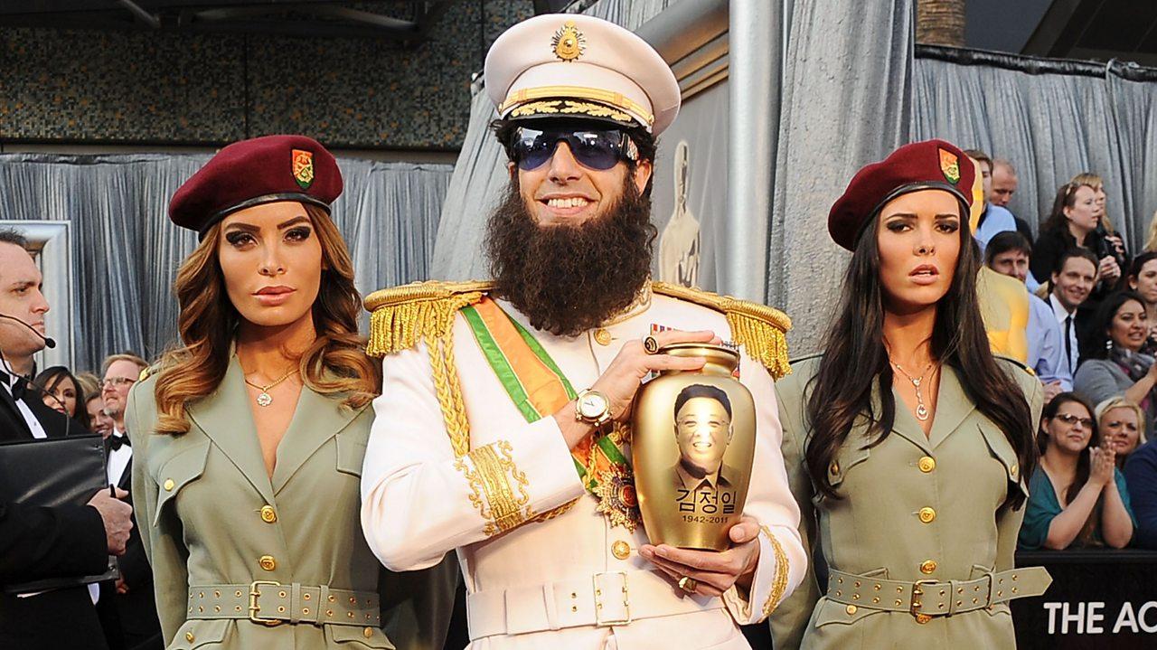 Sacha Baron Cohen as The Dictator