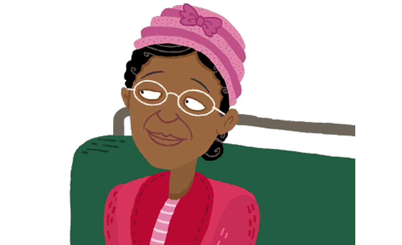 Rosa Parks sat on a bus.