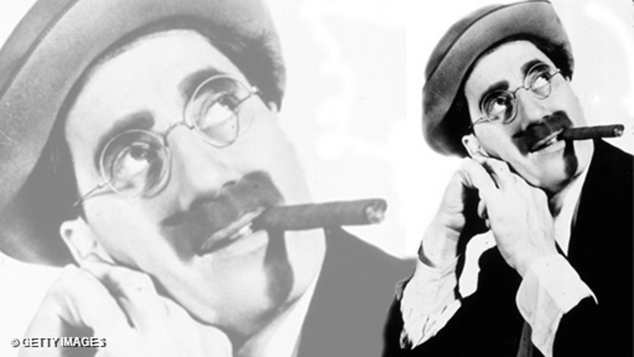 Press Conference - Groucho Marx