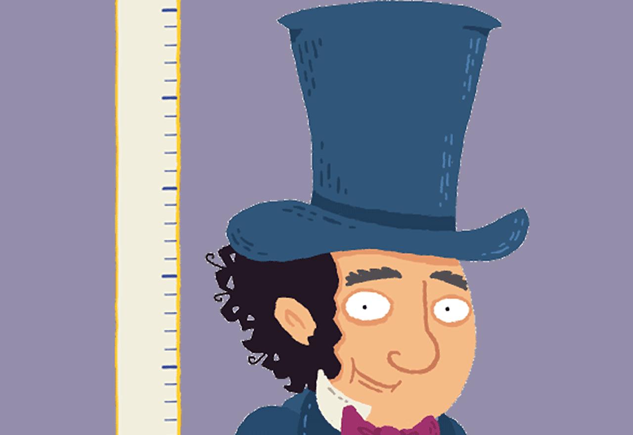 Isambard Kingdom Brunel and his tall hat