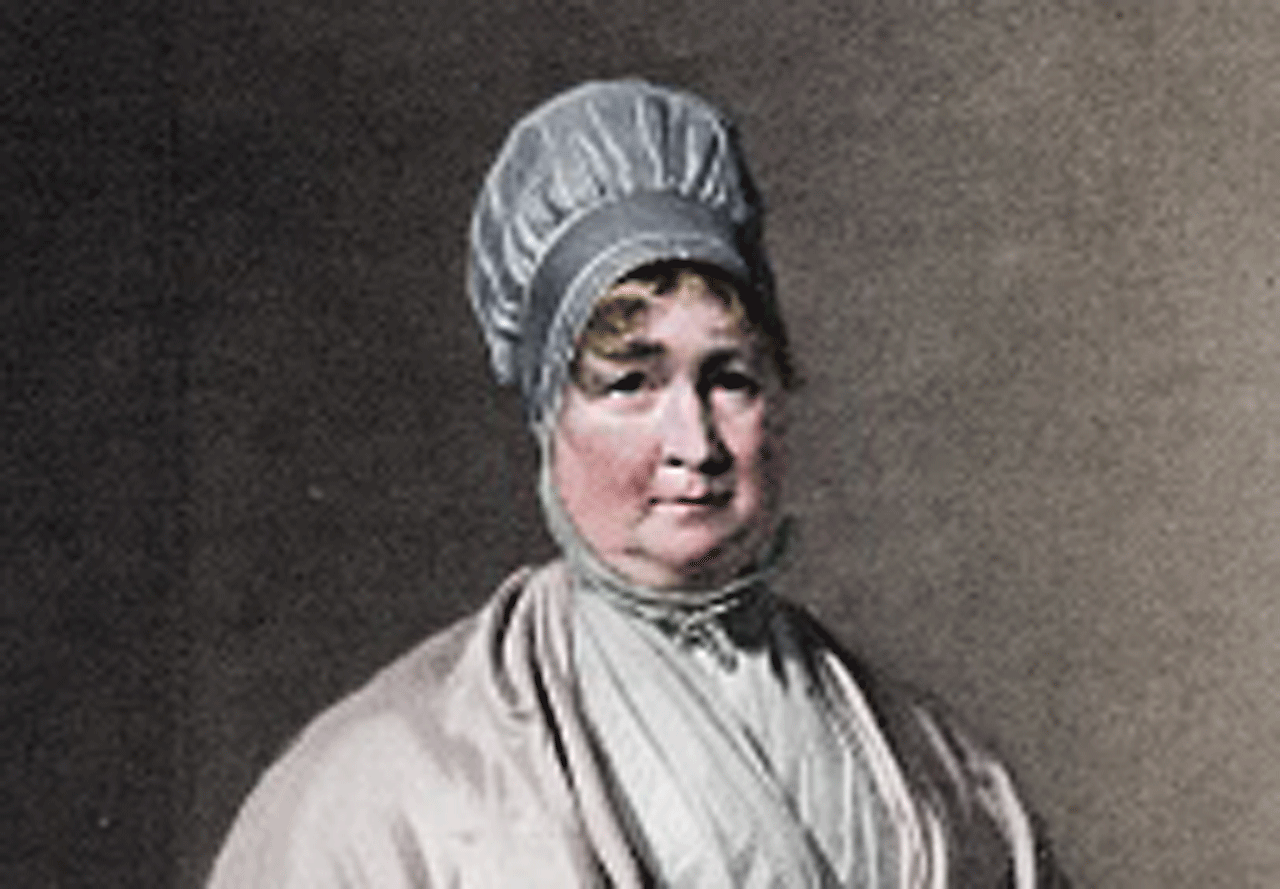 Painting of Elizabeth Fry.