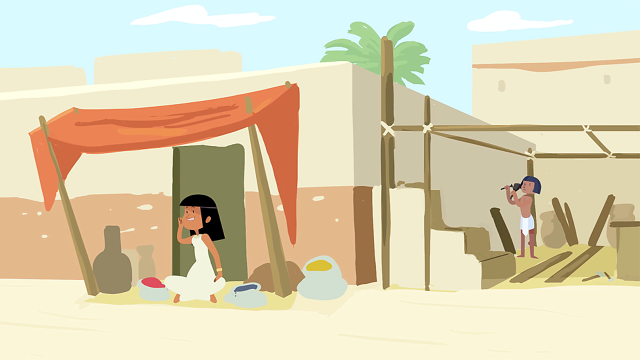 What was life like for the ancient Egyptians?