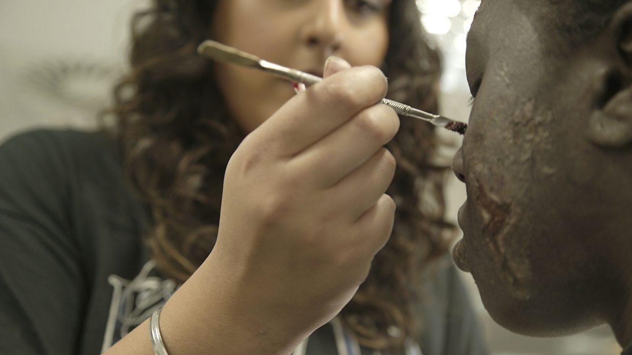 Amrita: prosthetic makeup artist