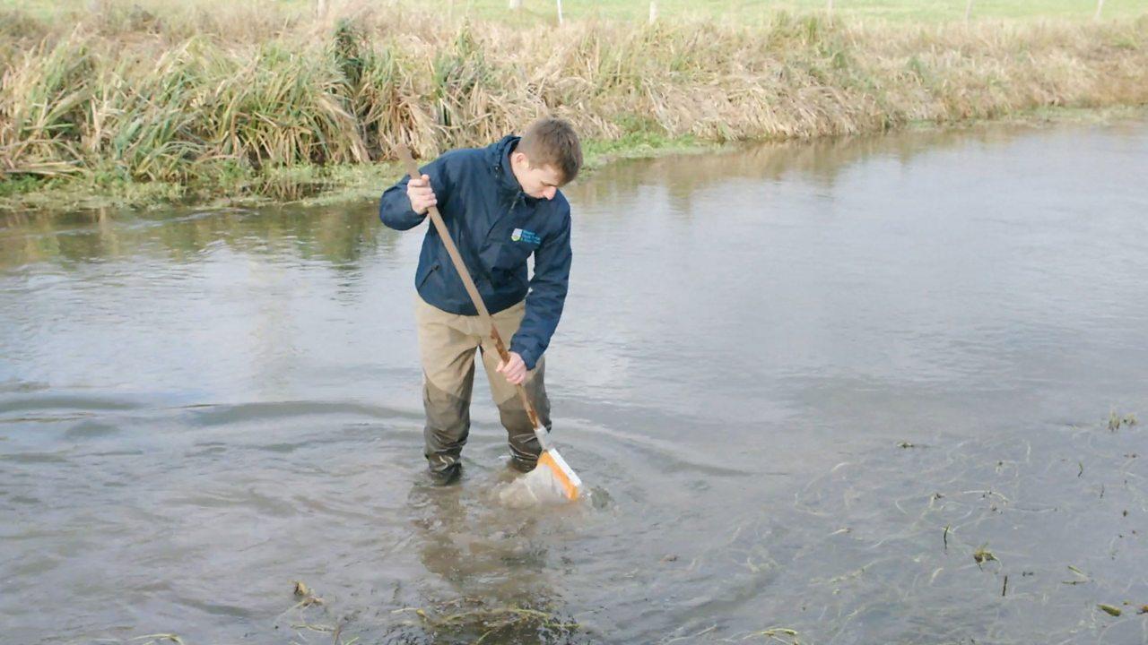 Liam: river catchment officer