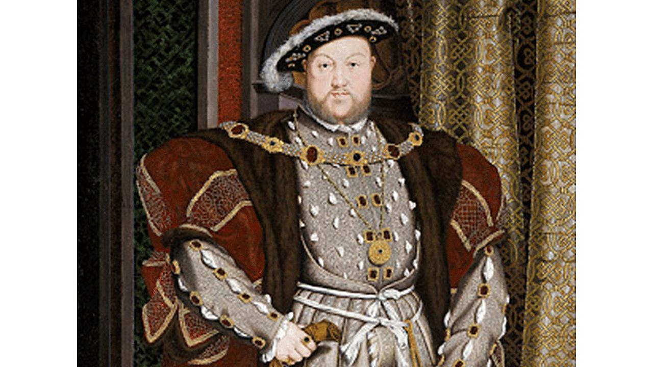 Portrait of Henry VIII.