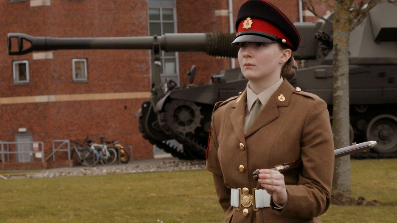 Caitlyn: junior soldier