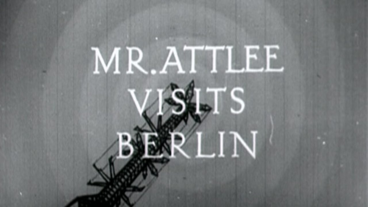 News - Mr Attlee Visits Berlin, 1949