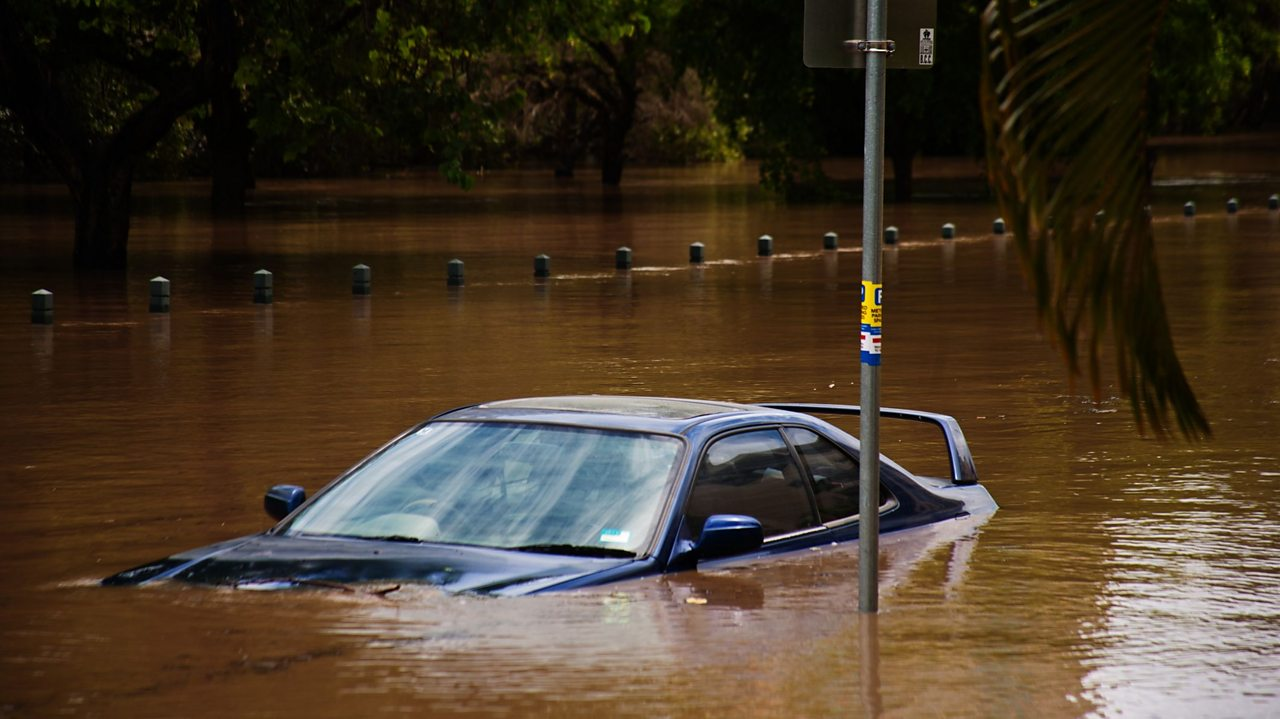 What causes floods?