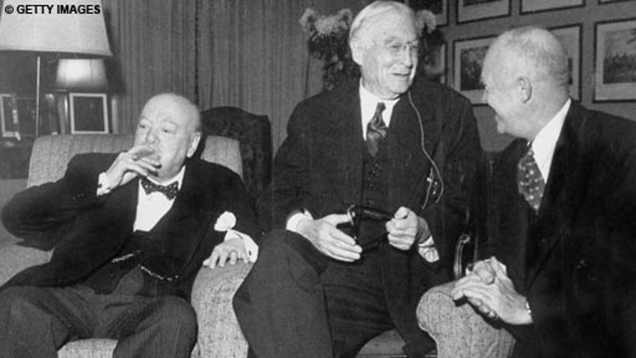 Churchill's oldest friend, 1965