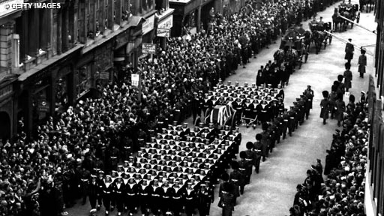 The State Funeral of Churchill - Part 1