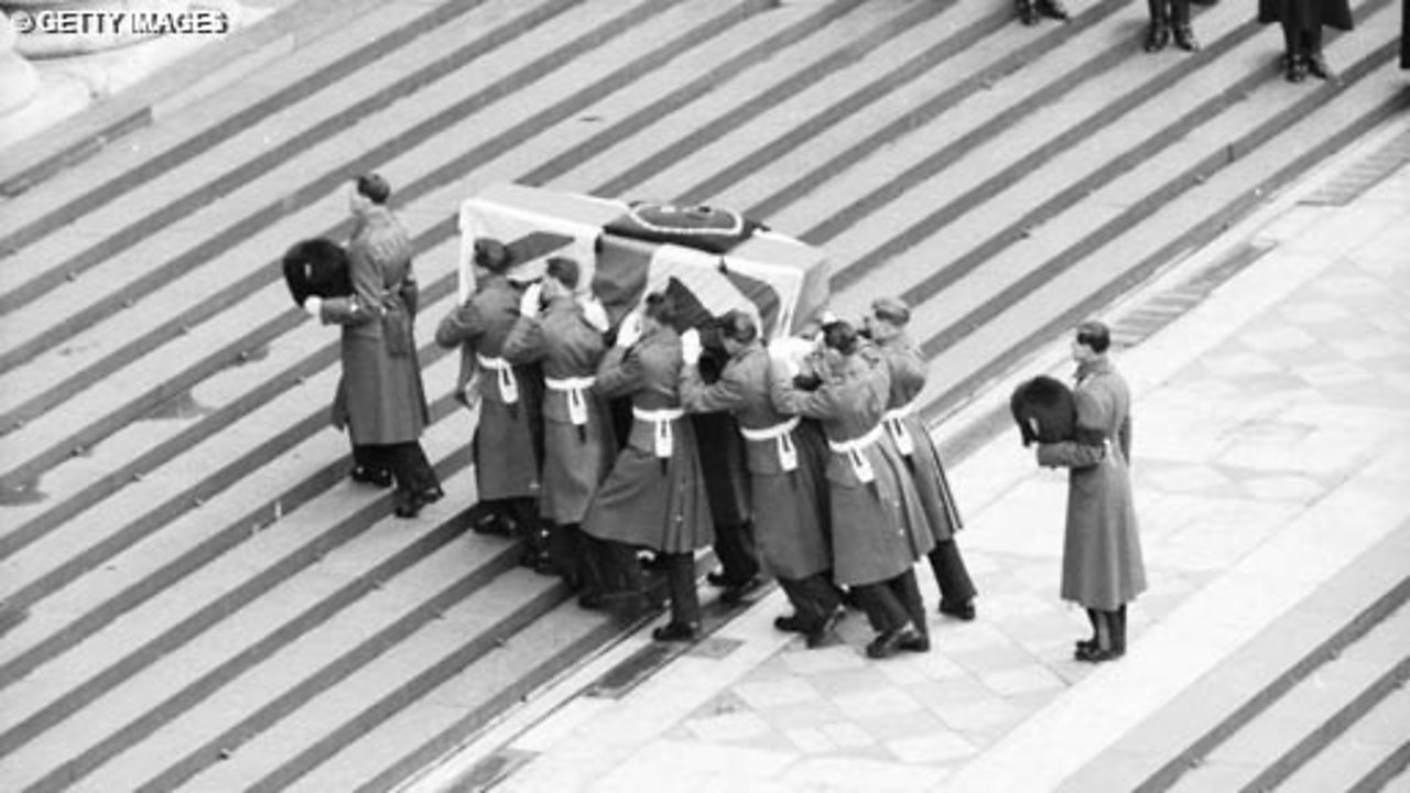 The State Funeral of Churchill - Part 2