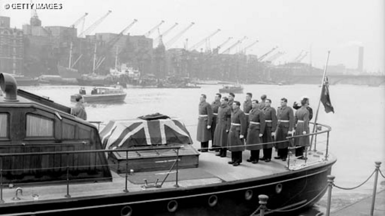 The State Funeral of Churchill - Part 4