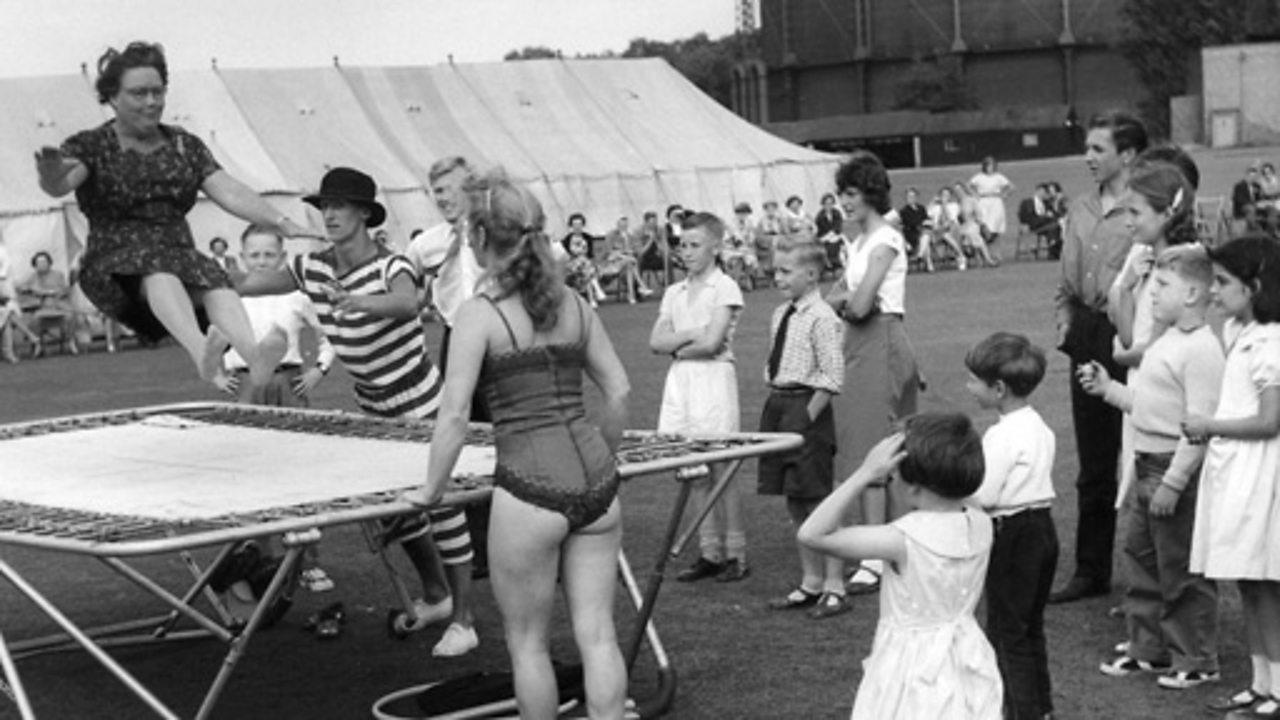 August festivities, 1954