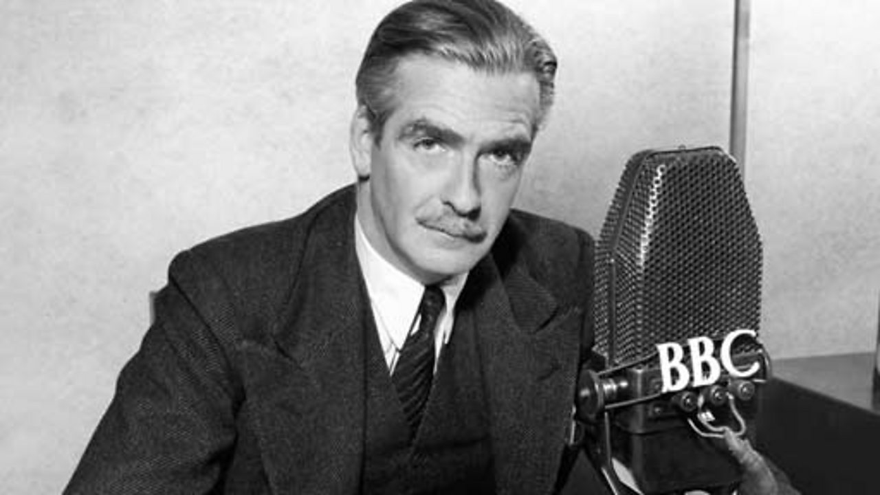 Broadcast to the Nation by the Rt Hon Anthony Eden