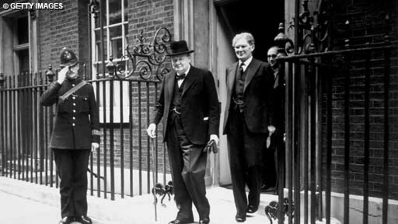 Churchill's First Broadcast as PM