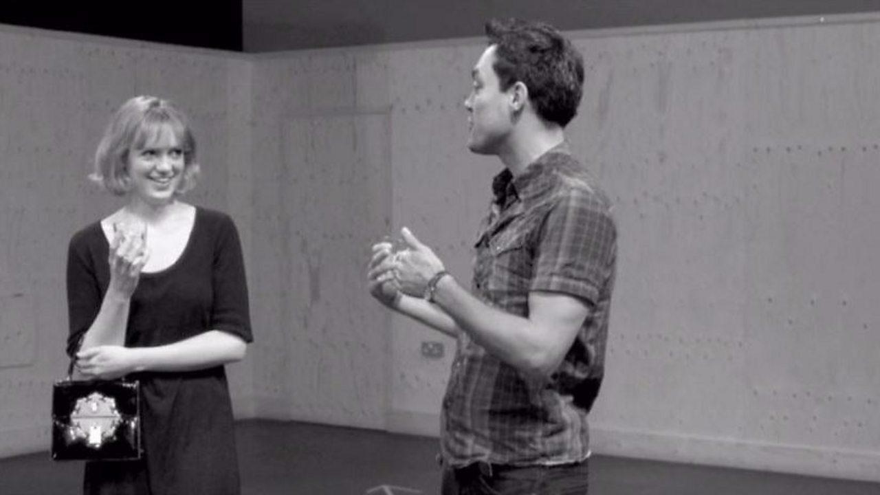 Act 2, Scene 1 - Helena and Demetrius (workshop)