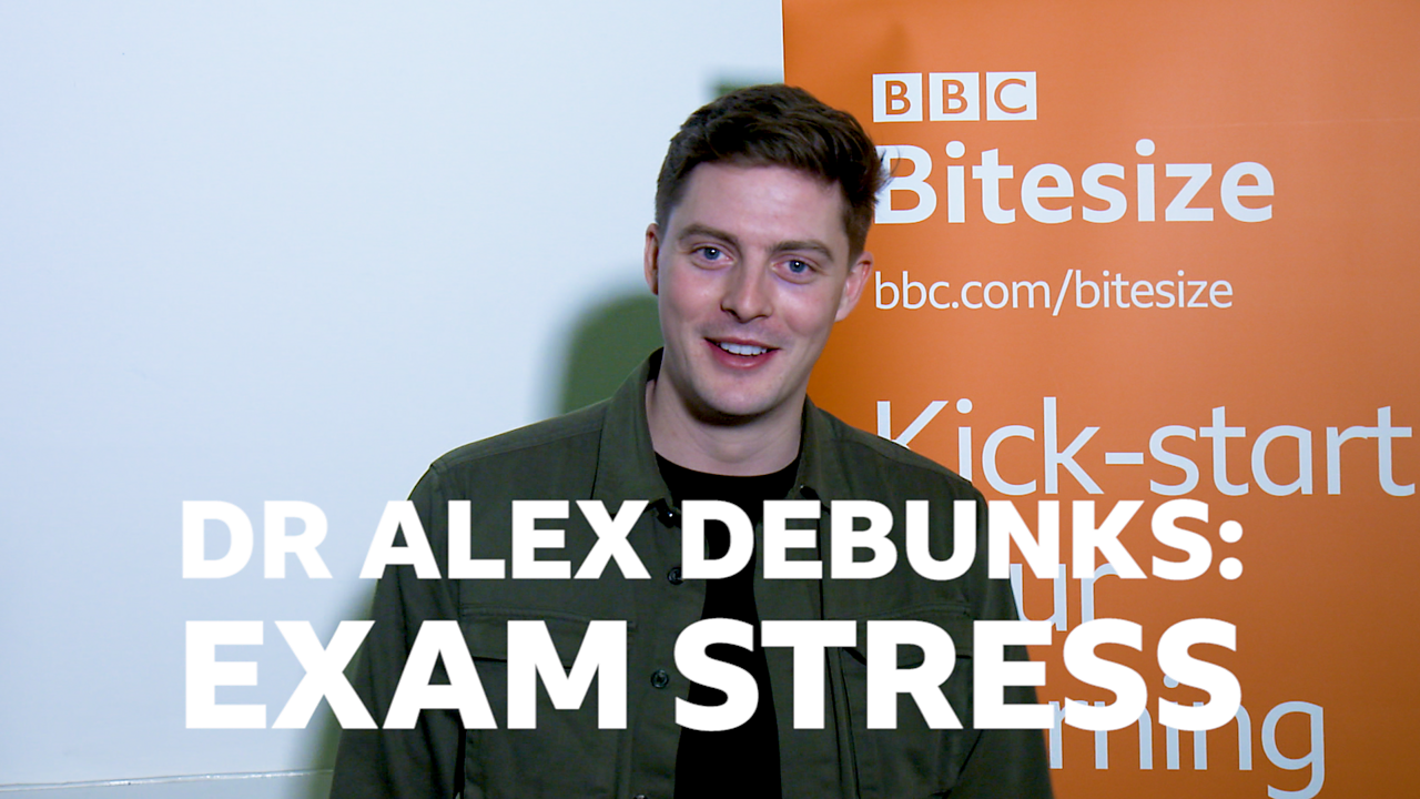 Dr Alex debunks exam stress