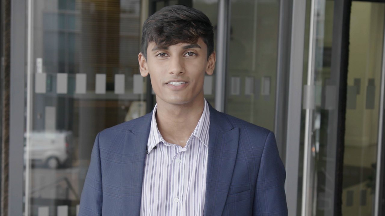 Omar: chartered management degree apprentice