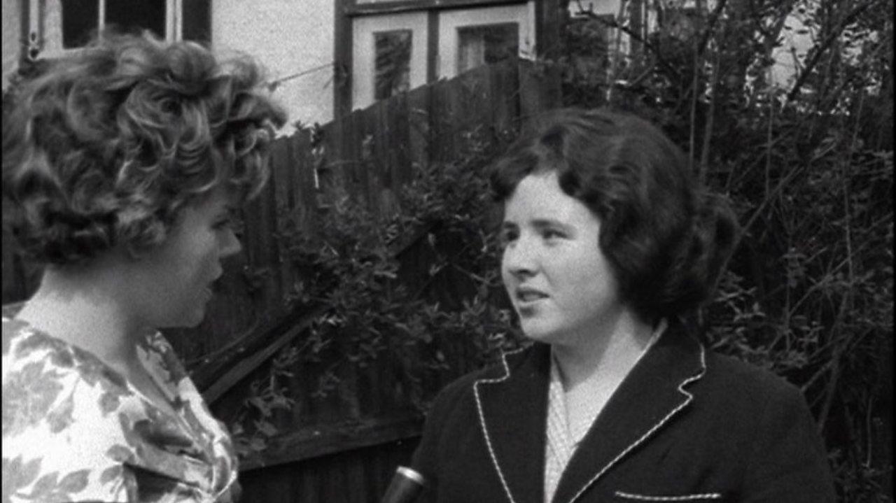 Arrested schoolgirl in East Germany returns, 1960