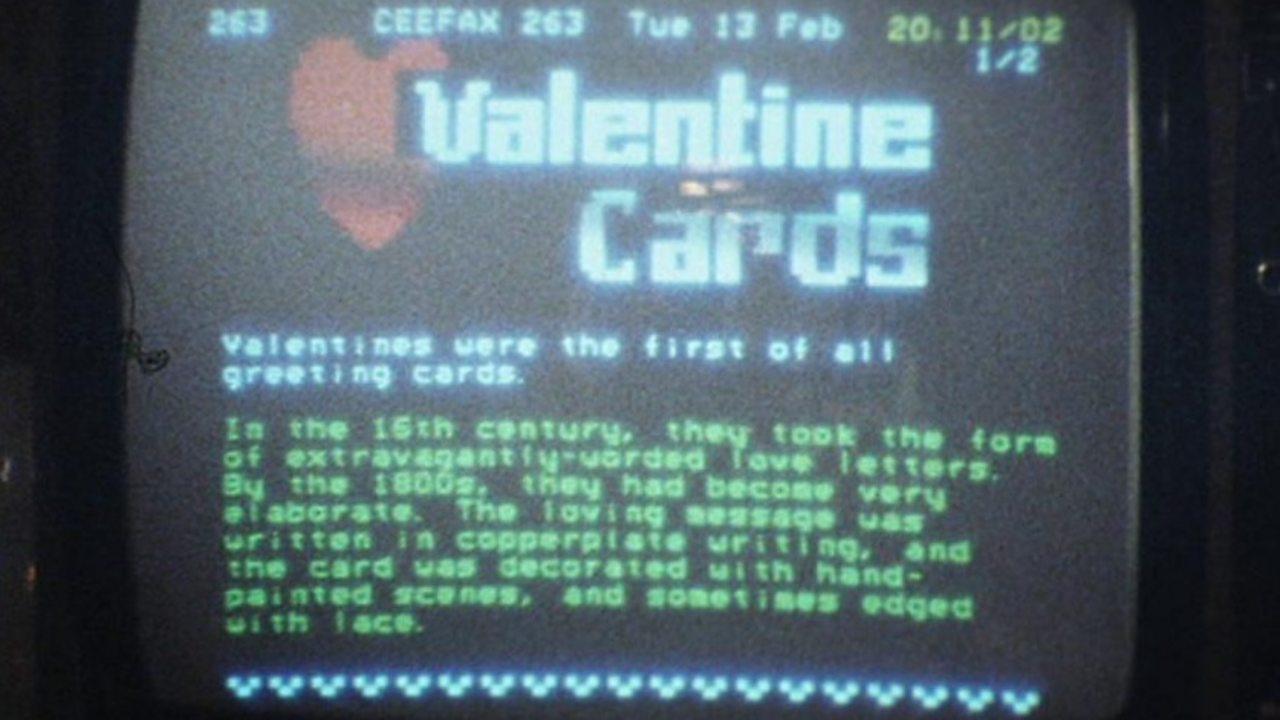 Ceefax Valentines, 1979