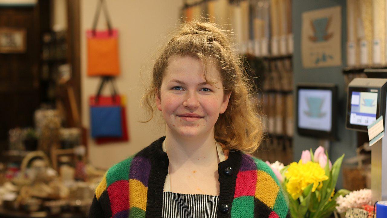 Lydia: zero waste shop owner