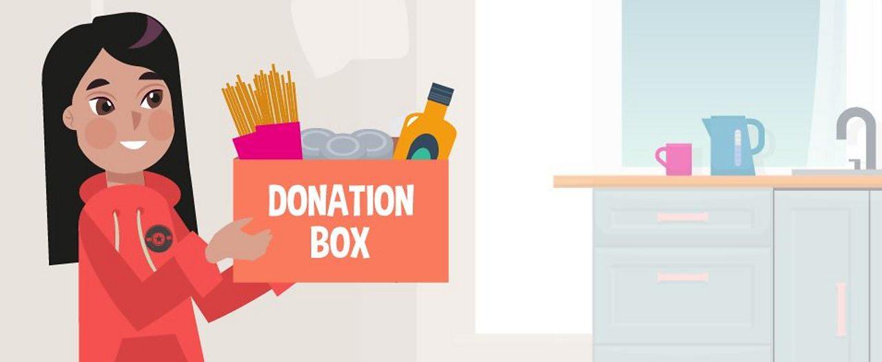 Wesak donation box