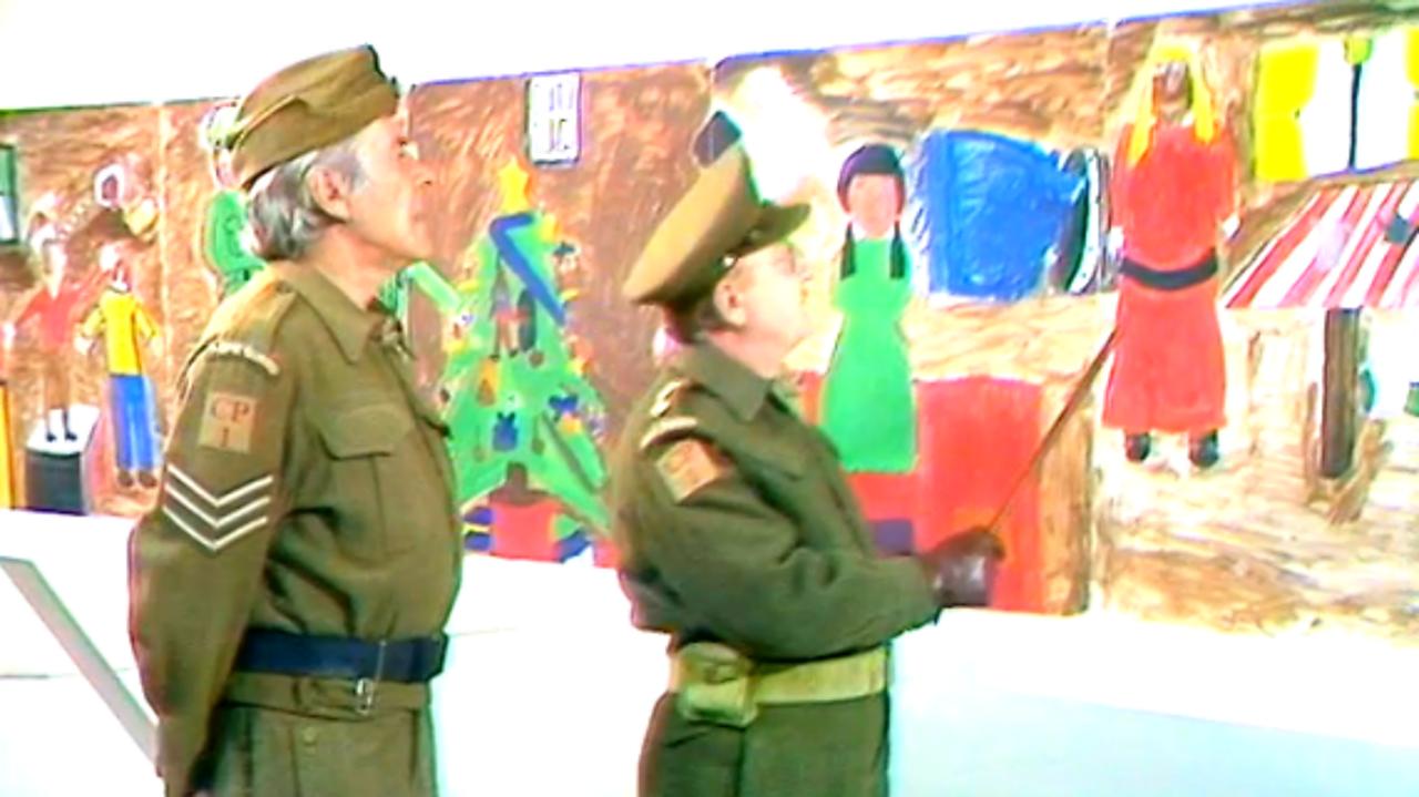 Dad's Army visit Blue Peter, 1973