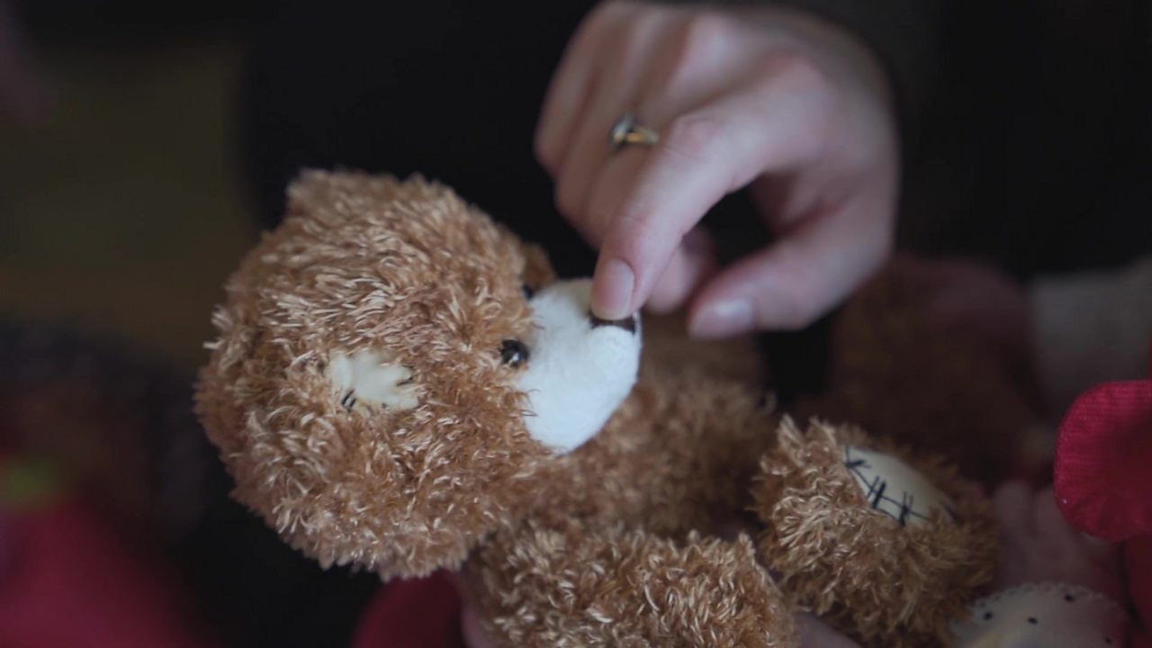 Teddy talking