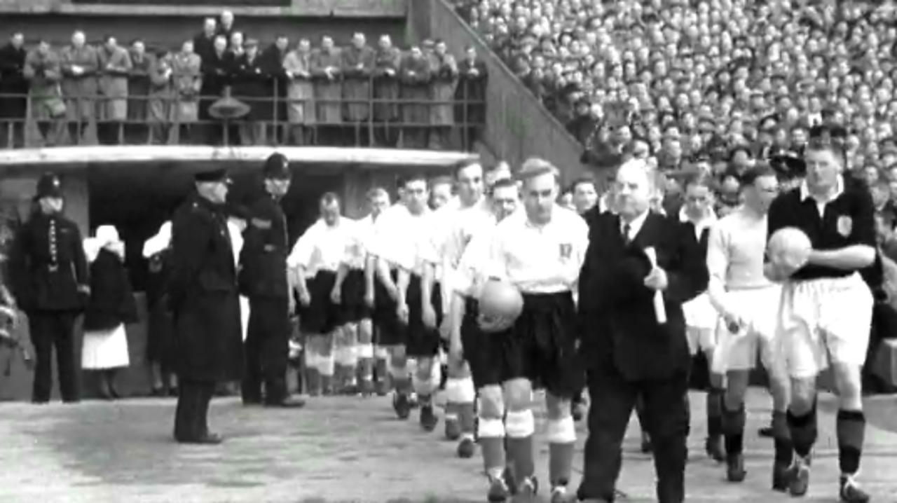 Scotland are soccer champions, 1951