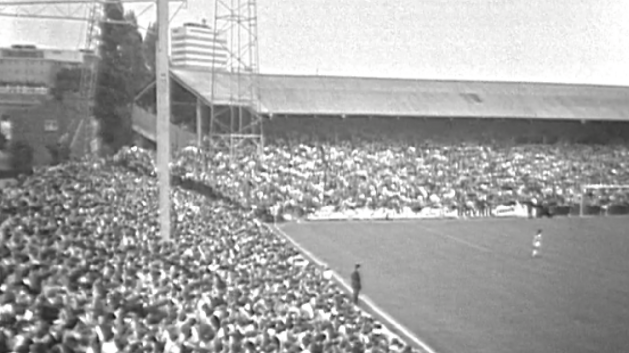 QPR's first game in the top flight, 1968