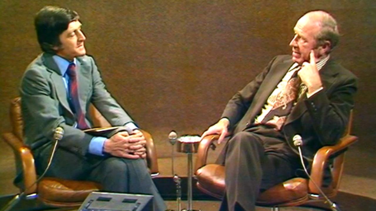 Sir Matt Busby interviewed, 1973