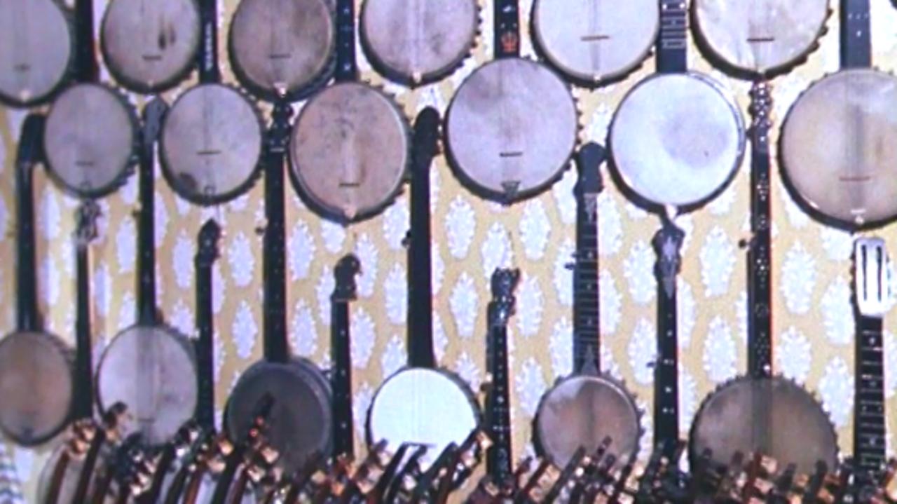 Banjo collector, 1979