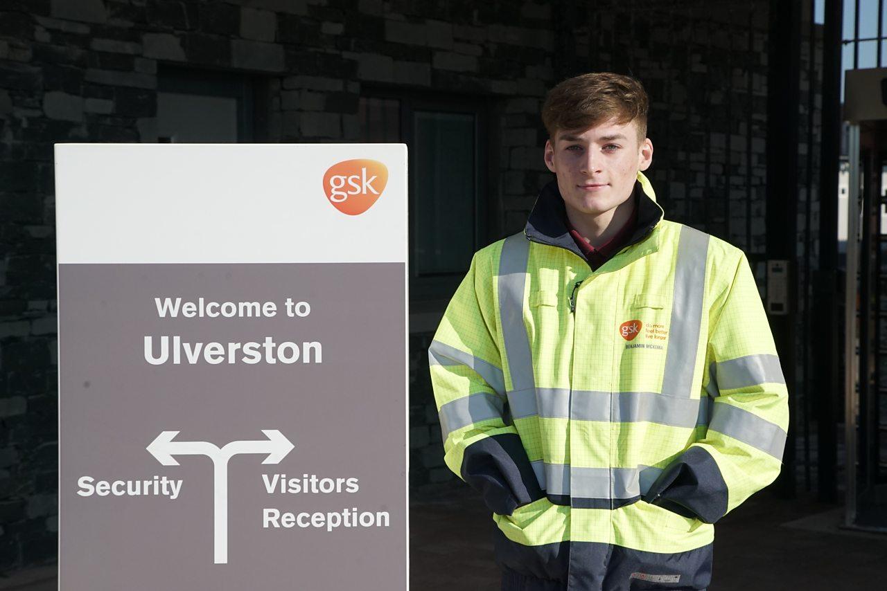 Ben's grandad inspired him to work at GSK Ulverston.