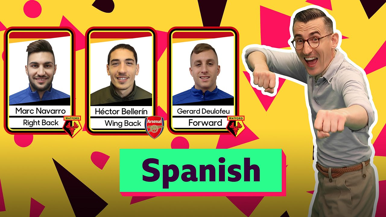 Super Movers Spanish greetings with Ben Shires