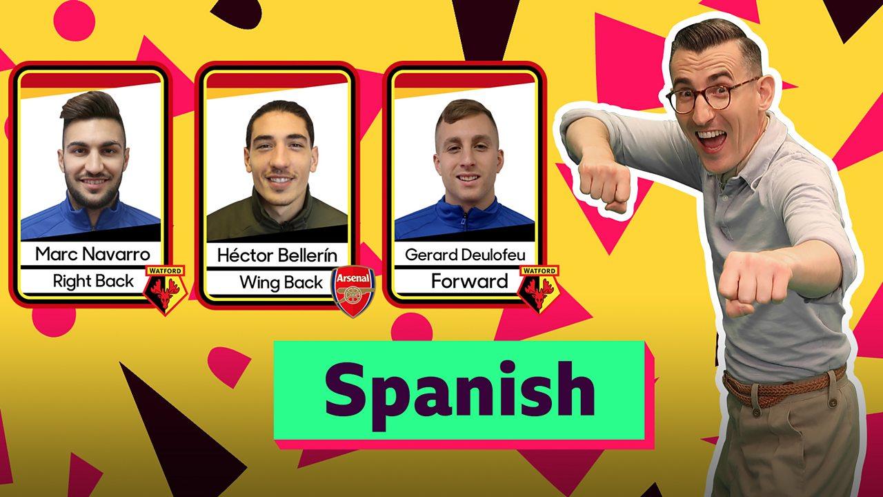 KS1 / KS2 MFL: Spanish greetings with Ben Shires